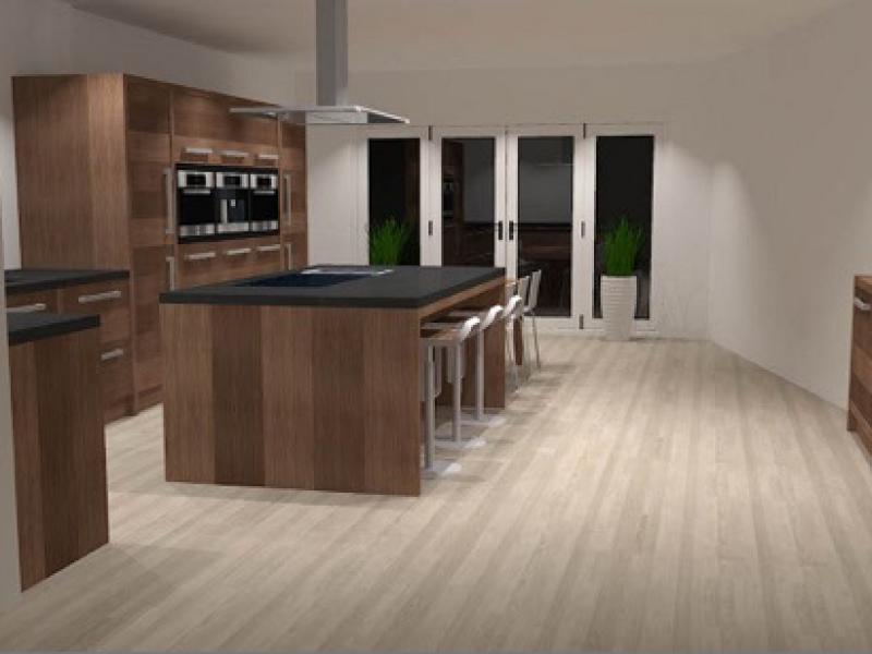 Keuken modern en open
