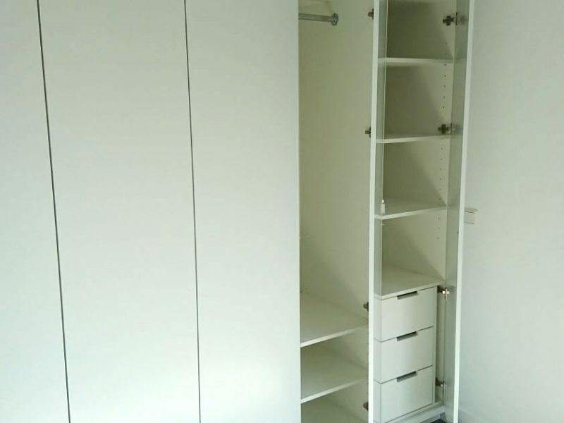 Inbouwkast-open