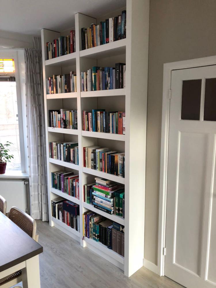 Boekenkast Op Maat Almere.Bibliotheekkast Op Maat