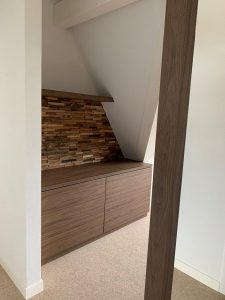 Dressoir plus wand