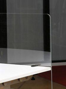 Corona Covid 19 plexiglas beschermpannel voor op buro